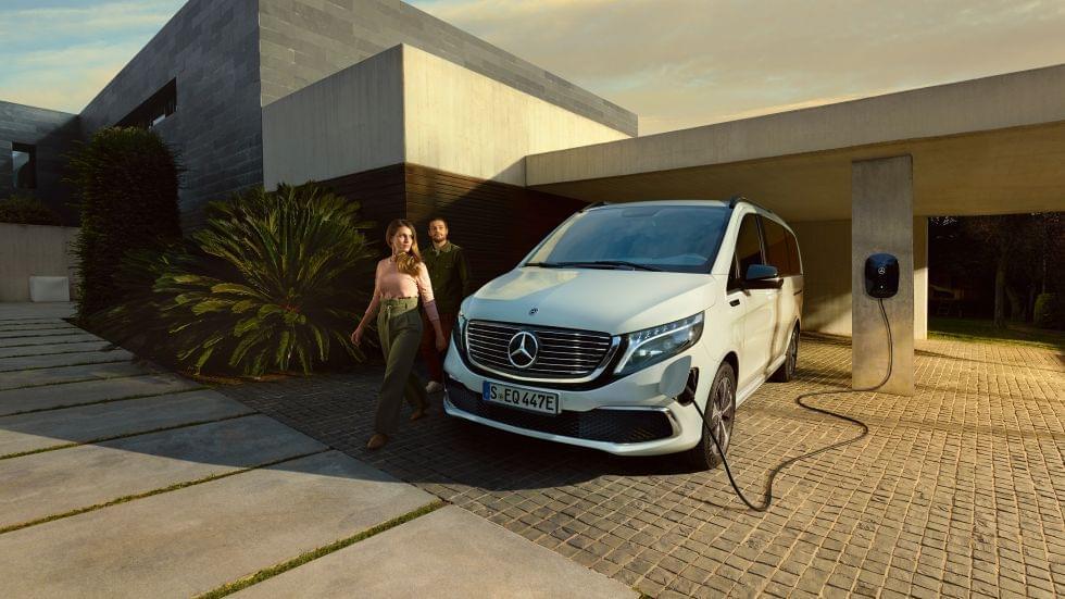 Încărcați acasă la Mercedes-Benz Wallbox